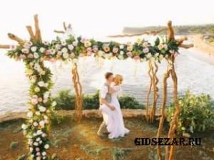 Формат open space: свадебный тренд 2017 года