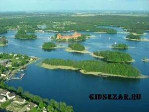 Тракайские озера. Ландшафтный заказник в Литве