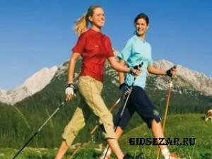 Скандинавская ходьба с палками - новомодное увлечение для здорового образа жизни