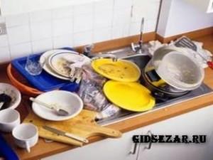 Необычные способы очистки загрязнившейся посуды