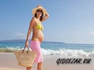 Как защититься от солнца во время беременности?