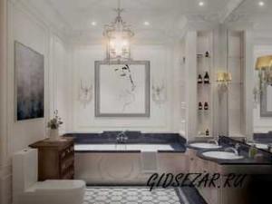 Интерьеры ванной в классическом стиле